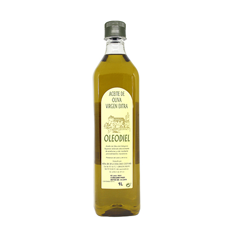 Aceite de Oliva Virgen Extra Oleodiel Coupage, Arbequina + Picual Botella 1 l