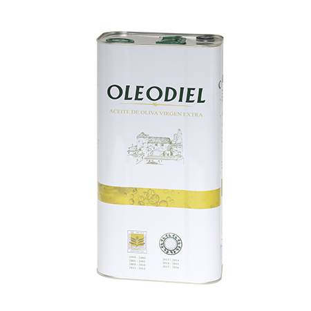 Aceite de Oliva Virgen Extra Oleodiel Coupage, Arbequina + Picual Lata 5 l